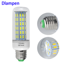 bombilla led e27 corn bulb 20W super bright 110v 220v energy saving lamp for home light 7030 78 leds E 27 2200 Lumens lighting
