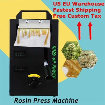 US EU Warehouse Fastest delivery Hydraulic Rosin Press Heat Machine 4ton dual heated plates Portable Oil Wax Extracting Tool 1
