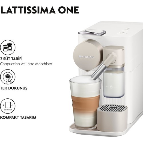 Nespresso One with Milk Frother  2