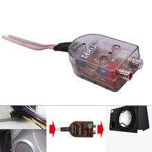 Alto-falante estéreo do carro da substituição estável dos conversores de áudio saída durável subwoofer sinal universal alto a baixo nível