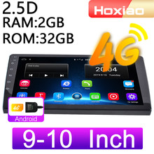 4G Android 8.1 Mobil Radio Pemutar Video Multimedia 9 Inch 10 Inch Mirrorlink 2DIN WiFi RAM 2G ROM 32G GPS Navigasi 2 Din Audio(China)