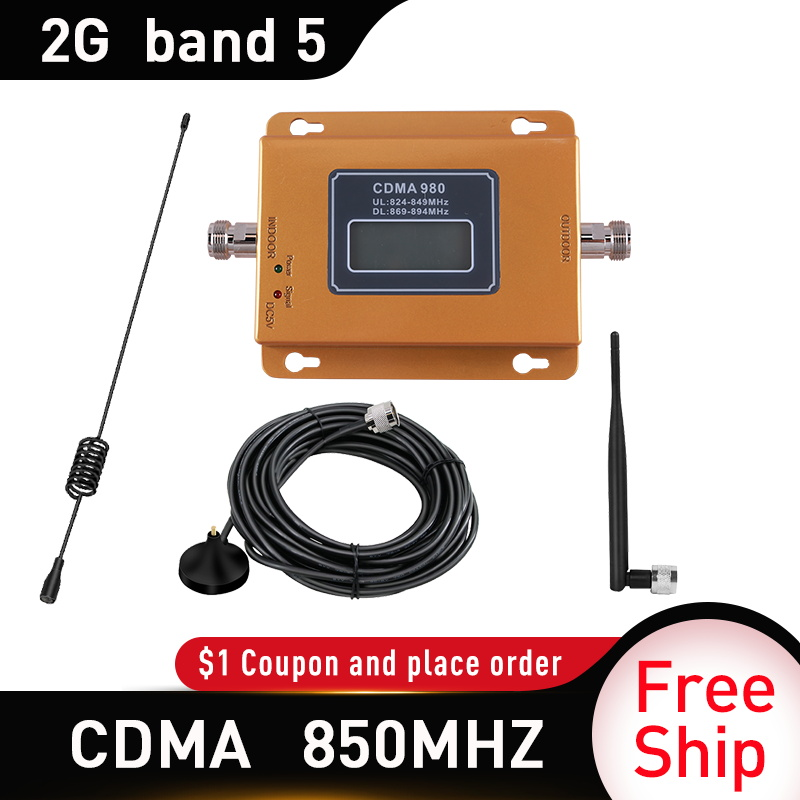 65dbi CDMA 3g Repeater 850 MHz 2G 3G 850mhz UMTS GSM Cell Phone Signal CDMA Amplifier CDMA Mobile Phone Signal Repeater Booster