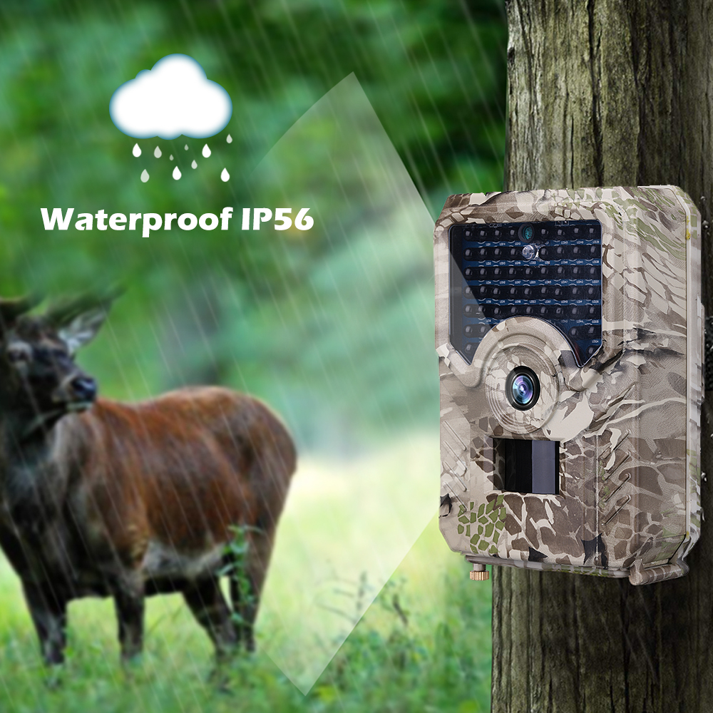 Basic Trail Hunting Camera Outlife PR 100 PR 200 Trail Camera Waterproof Wildlife Outdoor Night Vision Photo Traps Cameras Video|Hunting Cameras| |  -