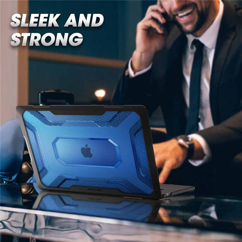 Dla MacBook Pro 16 Case A2141 (wydanie 2019) seria UB Slim gumowany pokrowiec na zderzak TPU z dotykowym paskiem i Touch ID