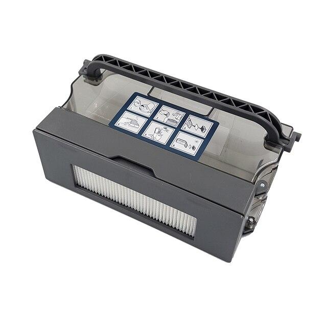 Roboter Staubsauger Staub Box Bin Wasser Tank für ecovacs Deebot DE55 DE35 DE33 Robotic Staubsauger Filter Teile Zubehör