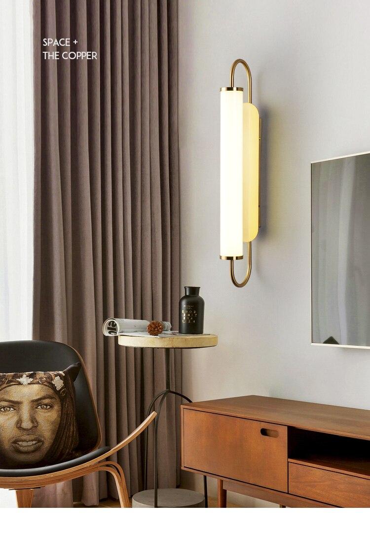 Moderno led lâmpadas de parede vidro luminária
