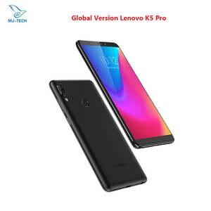 Lenovo K5 Pro 64G 4gb LTE Octa Core Fingerprint Recognition 16mp New Mobile-Phone-Snapdragon