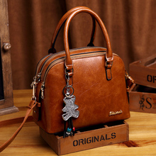 Women's Genuine Leather Handbag Large Leather Designer Tote Bags for Women 2019