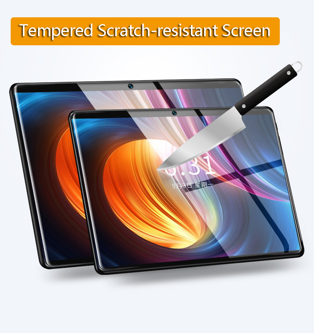 10 Inch Tablet Pc Octa Core 3GB+64GB ( 32GB +64GB Card ) 4G LteTab Phone GPS Bluetooth Android Tablet 2.4G+5G WIFI 1920x1200