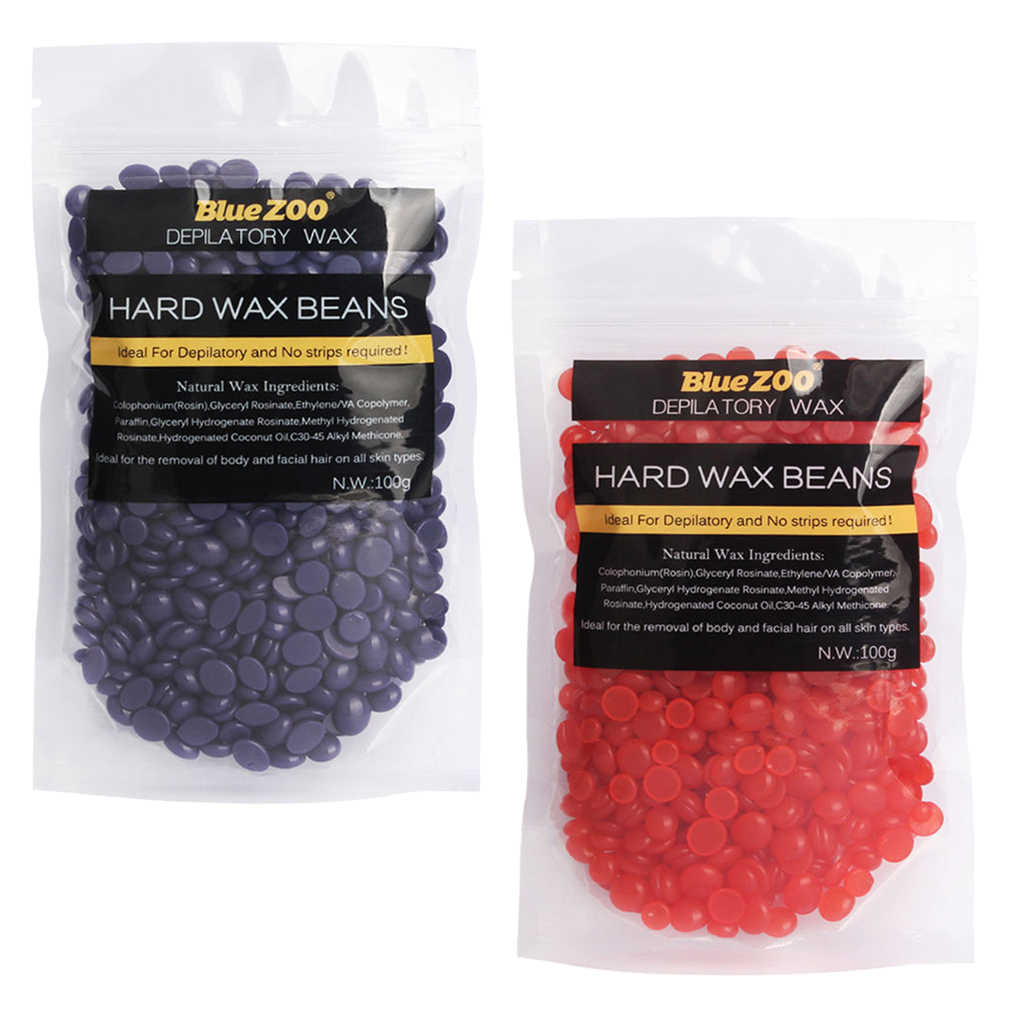 200g Pearl Wax Beans Hot Film Waxing Beads Body Bikini Hair
