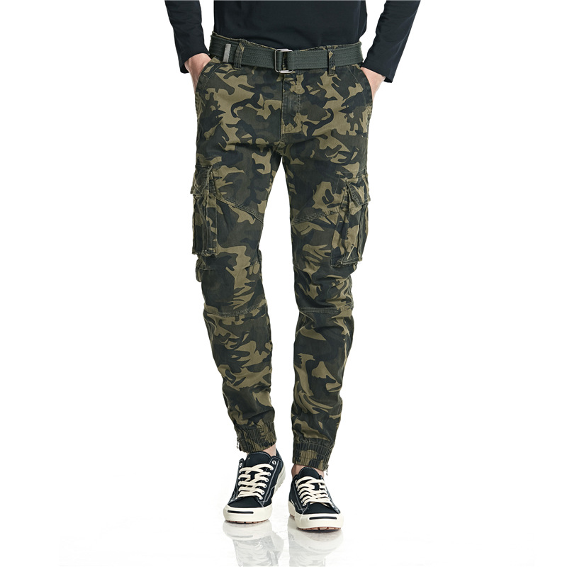 New Style Casual Pants Camouflage Bib Overall Popular Brand Men's Trousers INS MEN'S Sweat Pants Fashion