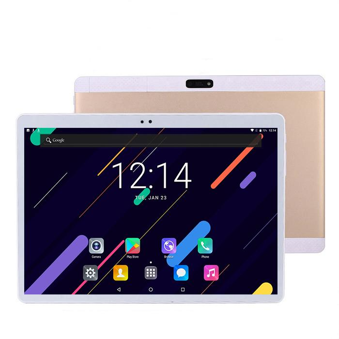 2020 New 10 Inch Android  8.0 Phone Tablet PC Black 4G Dual SIM 128GB  Octa CORE 4GB IPS 1280*800 Capactive Screen Tablets