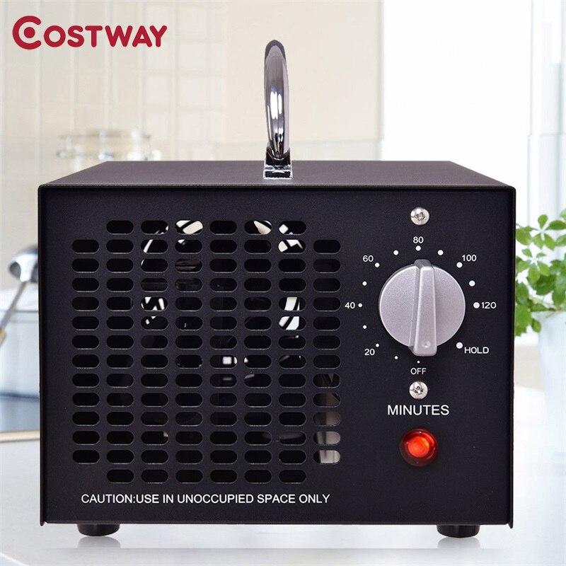 COSTWAY 5000 mg / h Kommerziellen Industrie Ozon Generator Luft Reiniger Sauerstoff (O3) Technologie Ozon Generator