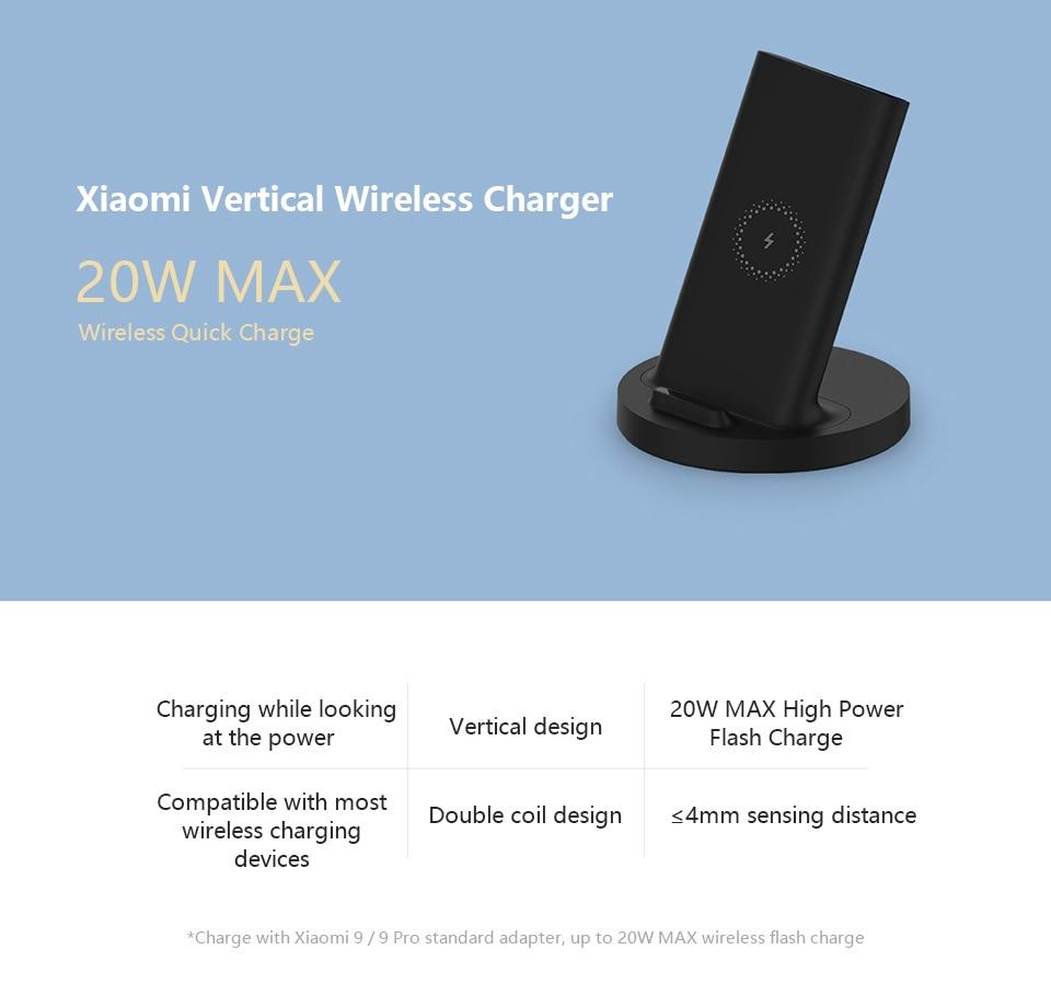 Xiaomi Mi 20W Wireless Charger 4