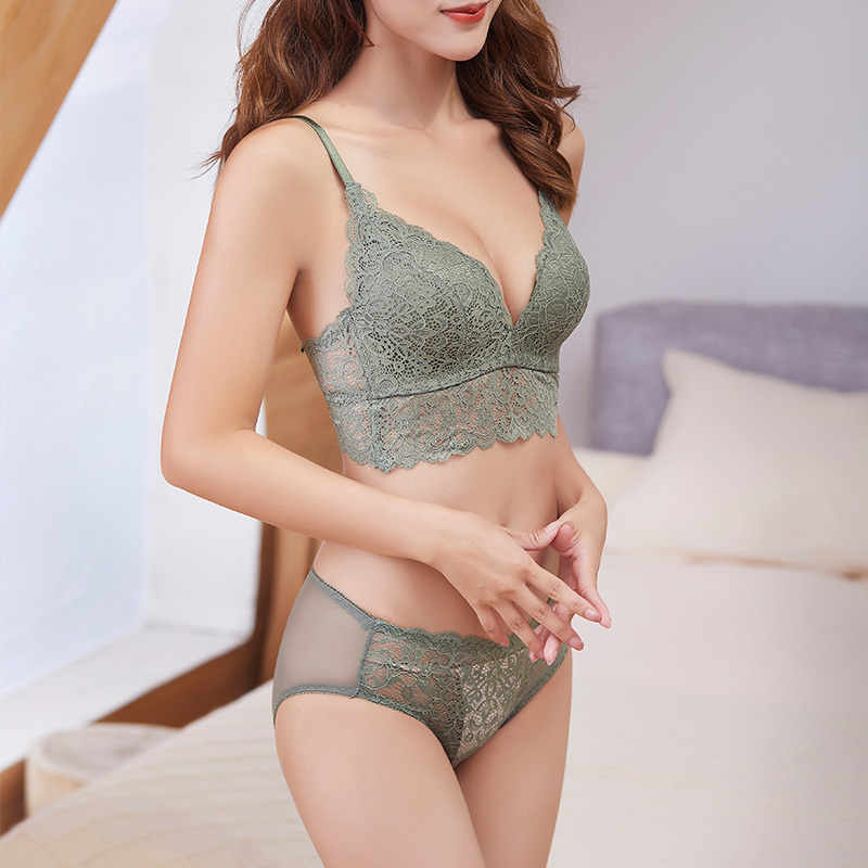 Women Push Up Bras Set Underwear Bra Intimates Briefs Knickers Panties Sexy Lingerie Set Nightwear Tops AA A B C D Cup