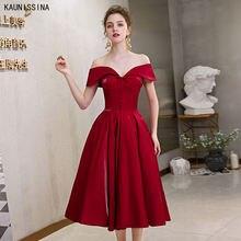 Элегантные коктейльные платья бордового цвета для выпусквечерние