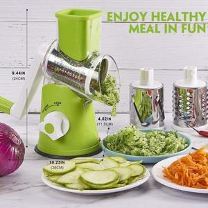Image 3 - 3 In1マニュアル多機能野菜カッター野菜フルーツポテトキャベツマンドリン野菜スライサーキッチンガジェット