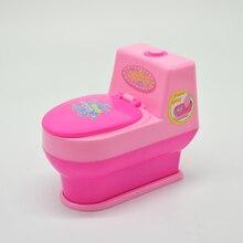 fashion for toilet barbie original mini accessories barbie doll house bathroom furniture accessories 1/6 bjd toys gift set