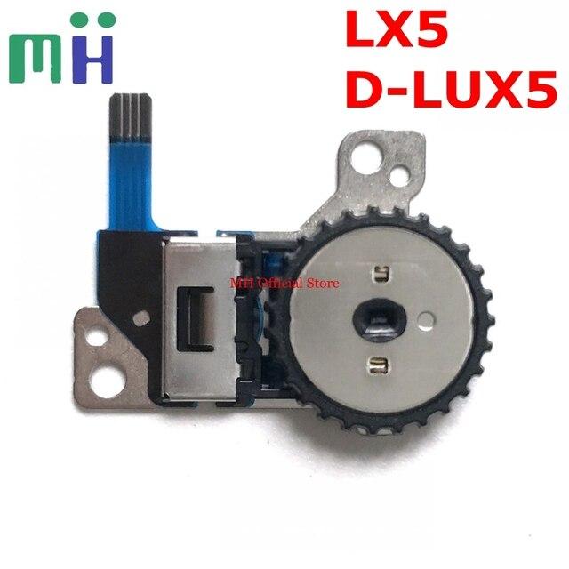 ใหม่ LX5 LUX5 รูรับแสงชัตเตอร์ปรับ Dial ปุ่มสำหรับ Panasonic DMC LX5 Leica D LUX5 ส่วนซ่อมกล้องหน่วย