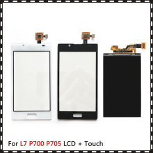 New High Quality 4.3 For LG Optimus L7 P700 P705 Lcd Display With Touch Screen Digitizer Sensor