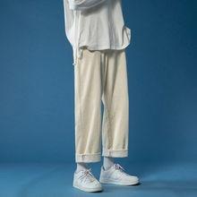 Winter Cotton Thicken Corduroy Pants Men's Fashion Retro Cas