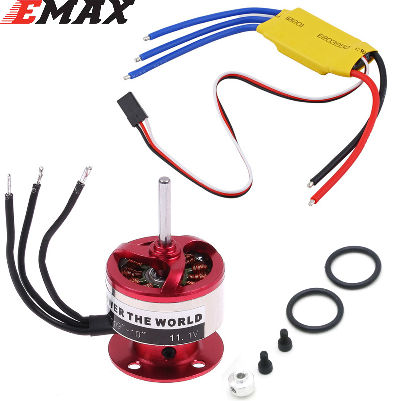 EMAX CF2822 <font><b>1200KV</b></font> Outrunner Motor + XXD 30A ESC For Rc Airplane image