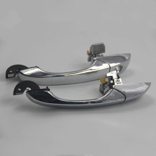 Exterior Door Handle for CHRYSLER 300/300C 05-10 Magnum 05-08 Chrome Front Rear Outer Door Handle Left&Right 6