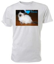 I Love Birman Cats T Shirt - Choice Of Size & Colours. Brand Clothing Tee Shirt(China)