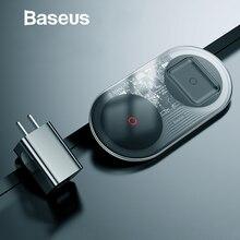 Baseus 20W מהיר צ י אלחוטי מטען עבור iPhone 11 פרו Max XR Xs AirPods הכפול 10W מהיר טעינה עבור Samsung S20 S9 Huawei P30 פרו