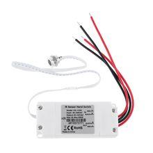 Touchless IR Motion Sensor Switch On/Off Kitchen Cabinet Light 110V 220V
