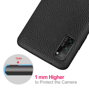 Image 5 - for Honor V30 Case V30Pro Cover for Huawei V30 Pro Case MOFi Silicone Shockproof Glass Capa PU Leather Coque