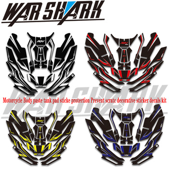 For Honda adv 150 adv150 motorcycle fuel tank pad Sticker Protection prevent scratching decoration sticker all body Decal Kit
