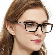 OCCI CHIARI okulary optyczne rama kobiety Vintage niebieskie światło okulary blokujące okulary komputerowe medyczne okulary korekcyjne