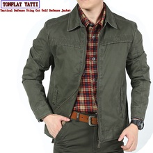 Anti-cut and stab-resistant Plus Size men denim shirt self-defense military tactics invisible Police SWAT FBI safety clothing clothing and self worth