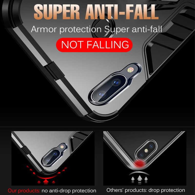 Sang Trọng Magentic Xe Nhẫn Ốp Lưng Silicon Dành Cho Samsung Galaxy Samsung Galaxy A50 A10 A30 A60 A80 Plus A90 A40S M10 M20 M30 a70 Ốp Lưng Ốp Lưng