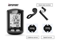 IGPSPORT IGS10 กันน้ำคอมพิวเตอร์ Speedometer จักรยานไร้สาย GPS