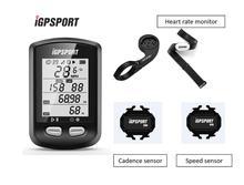 IGPSPORT IGS10 Waterproof מחשב מד מהירות אלחוטי אופני GPS