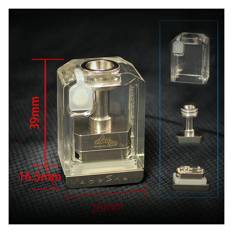SXK Vapesnail Bb Insider For BB Style Box Mod Billet Box V4 Vape