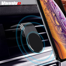 Vanniso Magnetic Car Phone Holder GPS Stand  Mini Air Vent Clip Mount Magnet Mobile For iPhone 7 XS Max X Samsung Xiaomi