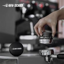 58.35mm tamper distribuidor de café aço inoxidável altura ajustável em pó martelo espresso calcadeira café accessorie para barista