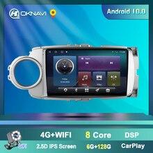 Автомобильный мультимедийный плеер oknavi android 90 для toyota