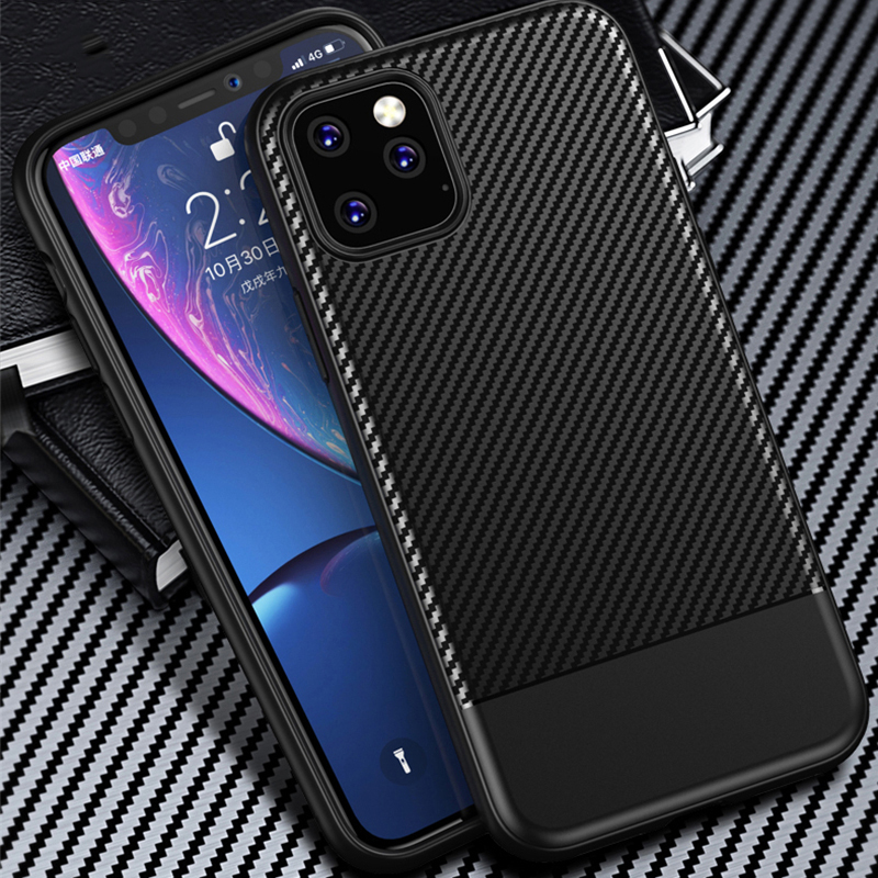 Binbo Carbon Fiber Case for iPhone 11/11 Pro/11 Pro Max 1