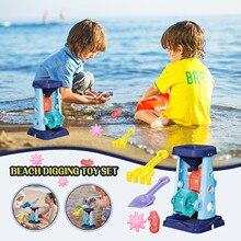 Sandbox-Set-Kit Summer Beach-Toys Parent-Child Snow 5PCS Interactive-Educational-Toy-Set