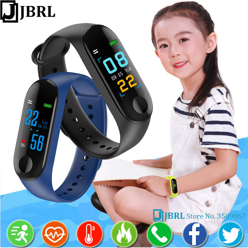 New Children Smart Band Kids For Boys Girls Smartband Child Wristband Smart Bracelet Sport Wrist Band Fitness Tracke Smart-band image