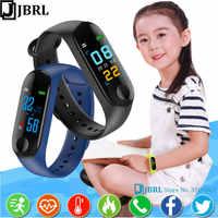 Nouveaux enfants bande intelligente enfants pour garçons filles Smartband enfant Bracelet intelligent Bracelet Sport poignet bande Fitness Tracke Smart-Band