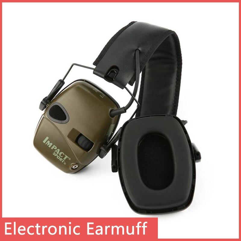 Para howard leight amortecedor eletrônico esportes tiro proteção auditiva eletrônica tiro esportes earmuff jogo fone de ouvido earmuff Protetor auricular    -