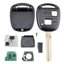 Интеллектуальный Автомобильный ключ дистанционного управления 2 кнопки 4D-67Chip автомобильный брелок подходит для Toyota Prado 304 МГц