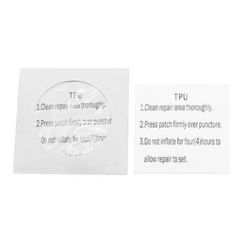 Clear TPU Puncture Repair Patch for Tent Air Bed Inflatable Toy Rubber Boat image