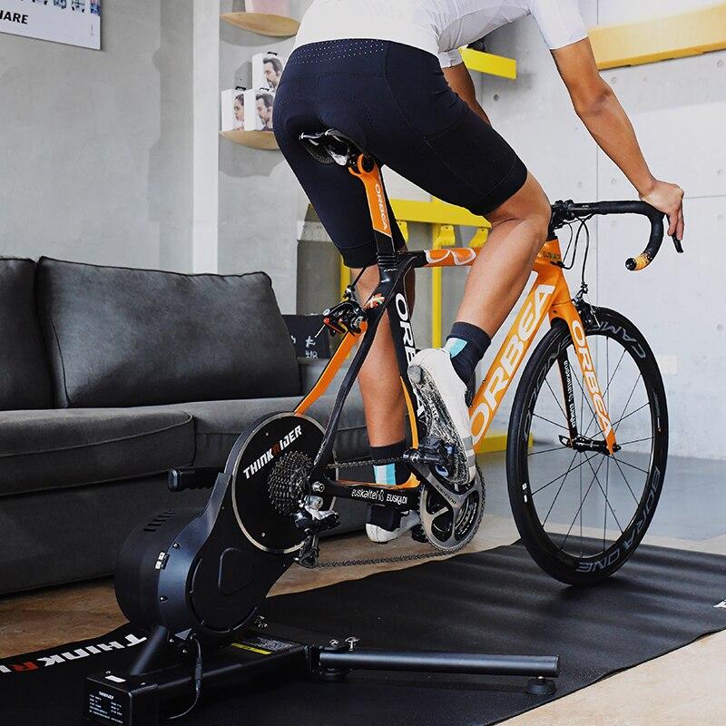 2019 New Thinkrider X7 3 MTB Bike Road Bicycle Smart Bike Trainer Carbon Fiber Frame Built-in Power Meter Bike Trainers Platform
