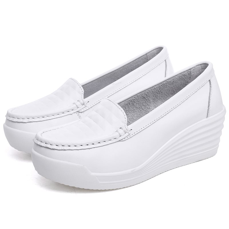 Women Nurse Soft White Workwear Shoes Medical Foo twear Working Nurse Shoes Scrubs Medical Uniforms Nurses Accessories image